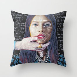 ::dream for a while:: Throw Pillow