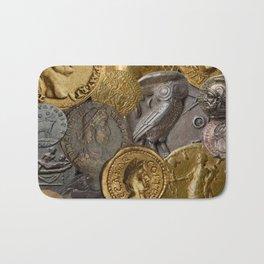 Ancient Coins 1 Bath Mat