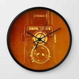 Lubitel Camera Wall Clock