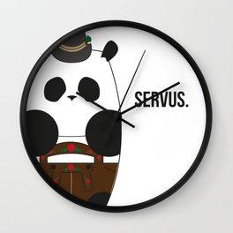 Culture Panda - Bavarian Wall Clock