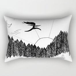Night Jumps Rectangular Pillow