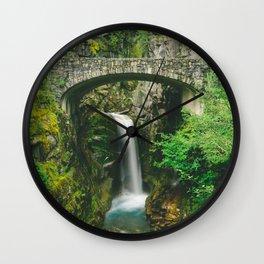 Christine Falls Wall Clock