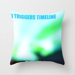 SEED TRIGGERS TIMELINE Throw Pillow