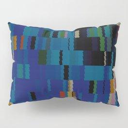 Navajo Blue and Beige Digi Fractal Pillow Sham