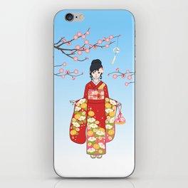 Kimono Basics iPhone Skin