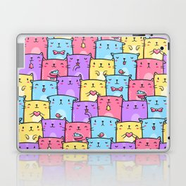 Colored Cats Laptop & iPad Skin