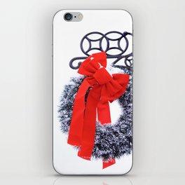 Christmas Wreath2 iPhone Skin