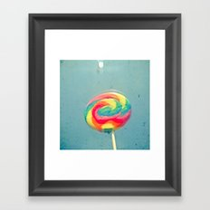 I Can Taste a Rainbow Framed Art Print