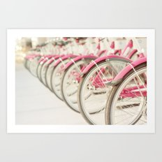 Sweet Rides Art Print