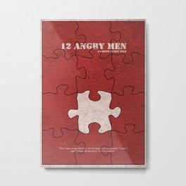 12 Angry Men Metal Print