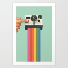 Take a Picture. It Lasts Longer. Art Print
