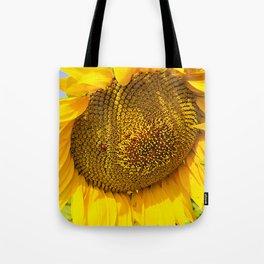 Varna Sunflower Field Tote Bag