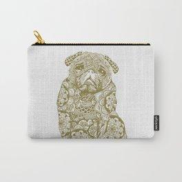 Mandala Pug Carry-All Pouch
