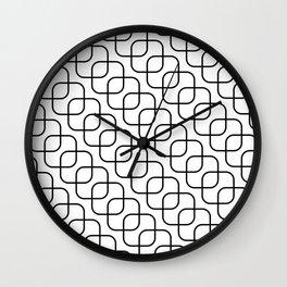 kaskada (white) Wall Clock