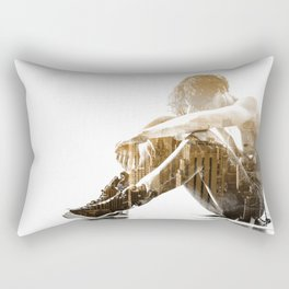Desertion Rectangular Pillow