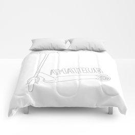 Scooter Amateur Comforters