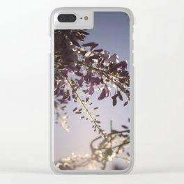 The Color Purple Clear iPhone Case