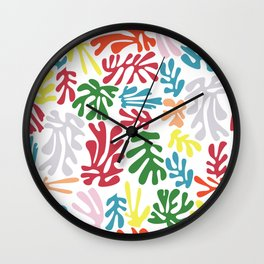 Matisse Pattern 004 Wall Clock