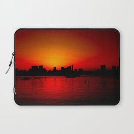 Tokyo Skyline Sunset Laptop Sleeve