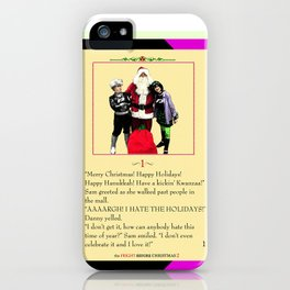 Danny Phantom The Fright Before Christmas notebook iPhone Case