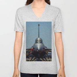 F-16 Fighting Falcon Unisex V-Neck