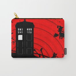 Tardis Halloween Carry-All Pouch