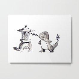 Zen Ember Metal Print