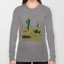 Man & Nature - The Desert Long Sleeve T-shirt
