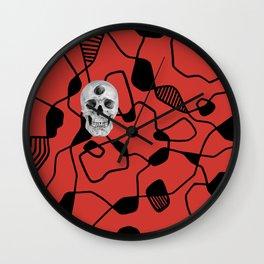 3rd Eye Contact Internal Combustion Wall Clock