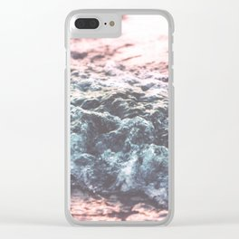 Soft Sea Swash Wave Clear iPhone Case