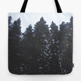 Cold Storm Tote Bag