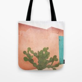 Strong Desert Cactus Tote Bag