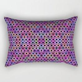 Fruity loop multicolor sprockets Rectangular Pillow