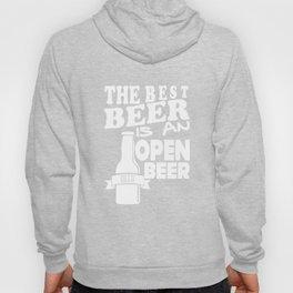 beer is an open  - I love beer Hoody