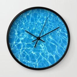 pool water Wall Clock