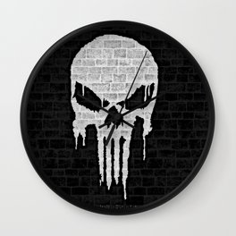 Wall Punisher Wall Clock