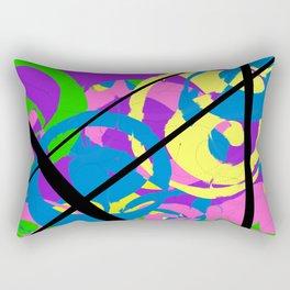 Spirals Rectangular Pillow