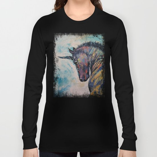 Dark Unicorn Long Sleeve T-shirt