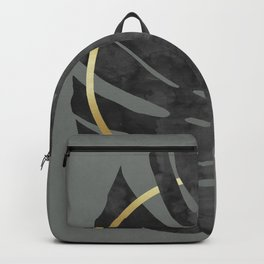 Tropical and golden III Backpack