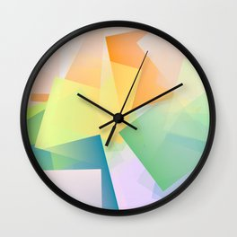 Cubism Abstract 197 Wall Clock