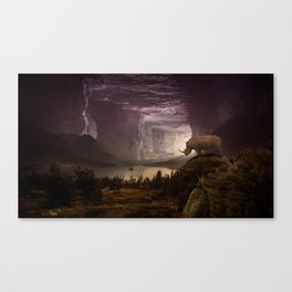 View on the plain by GEN Z Canvas Print