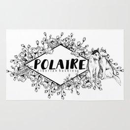 Polaire Siberian Huskies Rug