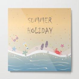 Summer Holiday Metal Print