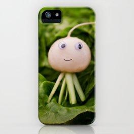 turnip guy iPhone Case