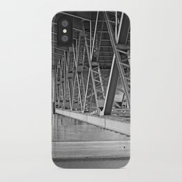 beneath the bridge iPhone Case
