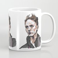 depeche mode Mugs featuring Mode by Meredith Mackworth-Praed
