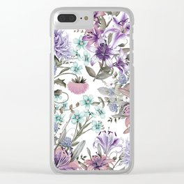 FLORAL GARDEN 11 Clear iPhone Case