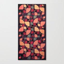 Vintage Butterflies Pattern Canvas Print