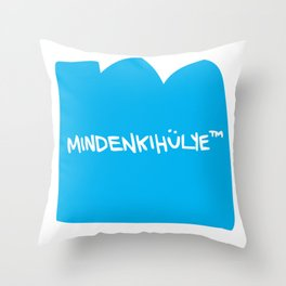 mindenkihülye™ blue Throw Pillow