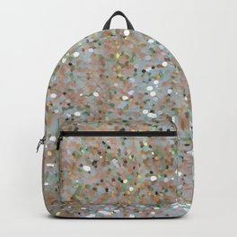 Glitter gold Backpack